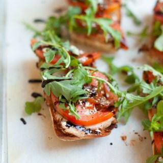 www.lillieeatsandtells.com recipe for Pork Tenderloin Baguettes
