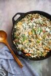 www.lillieeatsandtells.com recipe for Garden Veggie and Herb Orecchiette