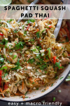 www.lillieeatsandtells.com recipe for spaghetti squash pad thai