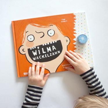 Wackelzahn Buch, Wilma Wackelzahn / Lilli & Luke
