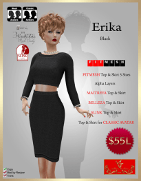 [55] Erika - (FITMESH) - BlackPIC