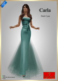 [60] Carla - Dark CyanPIC