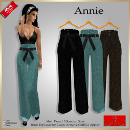 [LD] Annie - High Waist Pants X 3 xs