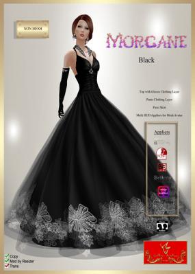 [LD] Morgane (Updated) - Black xs