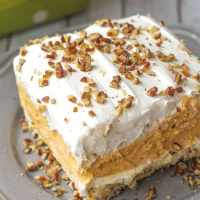 Pumpkin Delight (Layered Pumpkin Dessert)