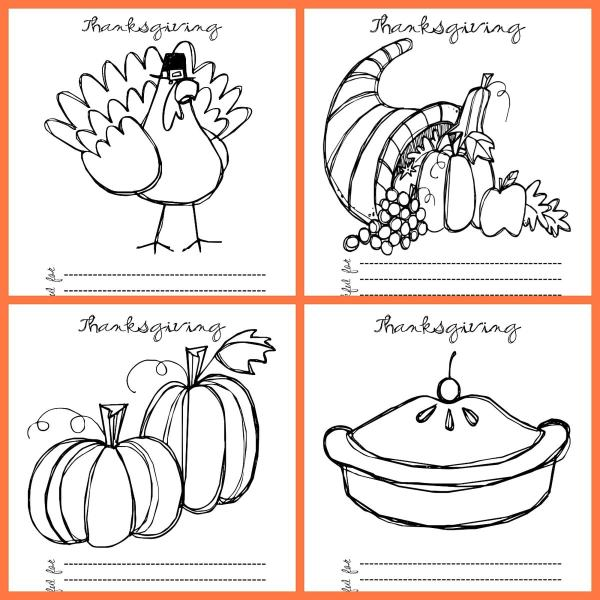 thanksgiving coloring pages free # 9