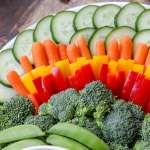 Thanksgiving Turkey Veggie Tray Fun Festive Lil Luna