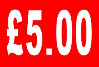 £5-5-Pound-Sale-Rail-Double-Sided-Sign-Card