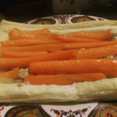BBC Good Food Maple Glazed Carrot Tart