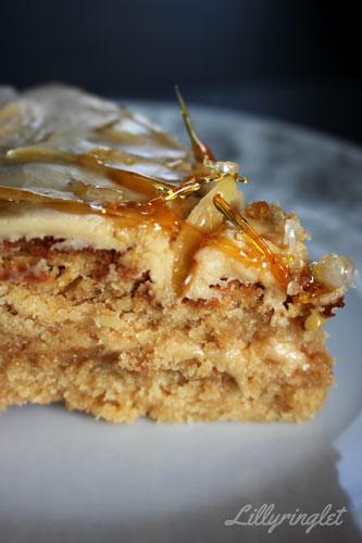 Bake off Caramel Cake
