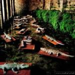 Mimmo Paladino – I Dormienti (Poggibonsi, Fonte delle Fate)