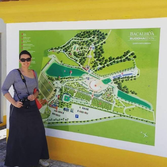 mappa visita Bacalhôa Buddha Eden