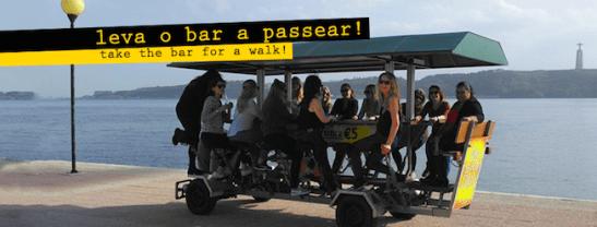 bar a pedali lisbona