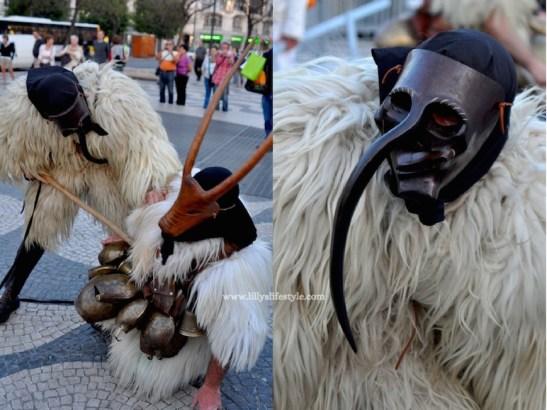 sfilata maschere lisbona