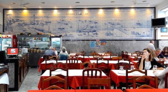 ristorante lisbona portogallo