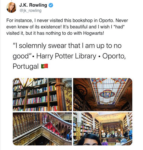 harry potter portogallo
