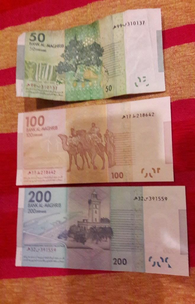 cambio soldi marocco