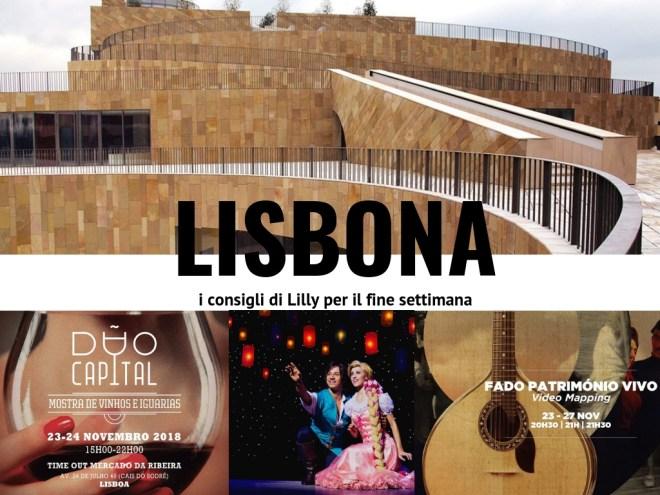 eventi novembre 2018 lisbona