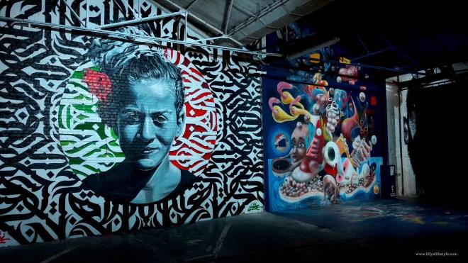 arte urbana stokar inside bruxelles