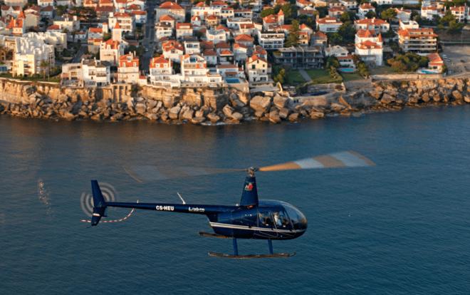 volo elicottero cascais estoril portogallo