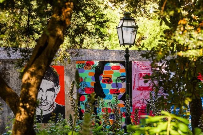 arte urbana lisbona Borderlovers