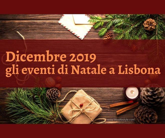 lisbona eventi natale 2019