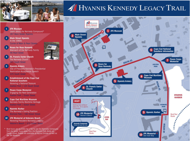 hyannis cosa visitare JFK
