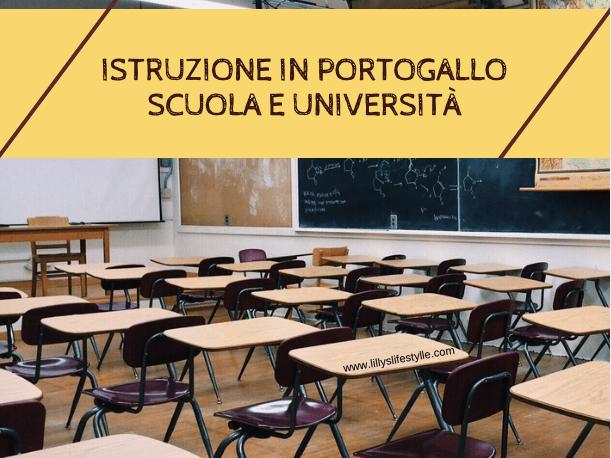 sistema educazione istruzione portogallo