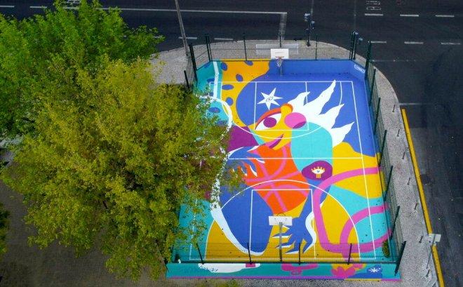 lisbona arte urbana sport