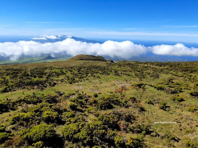 salire sul monte pico azzorre
