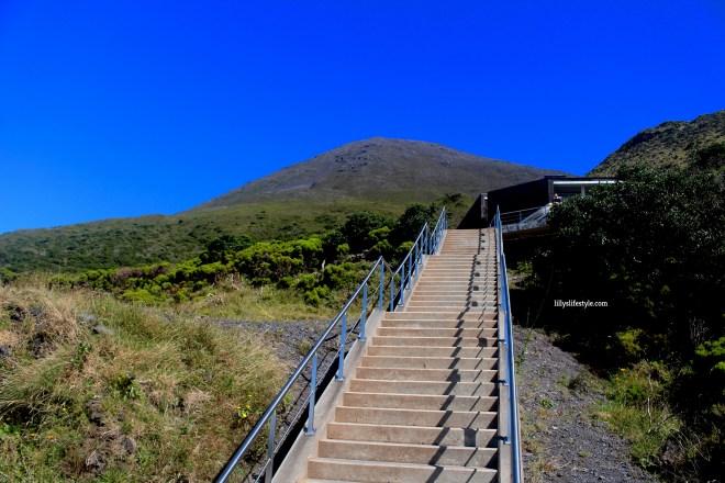 salire sulla montagna pico
