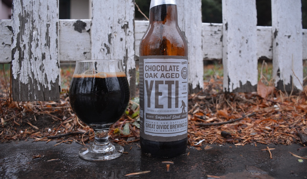 chocolate oak-aged yeti