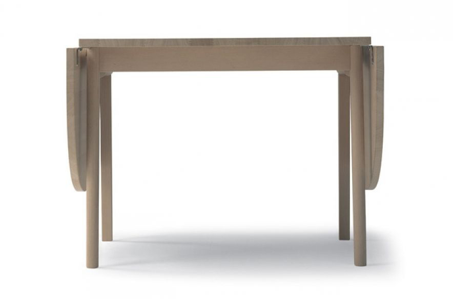 table avec rallonges rabat