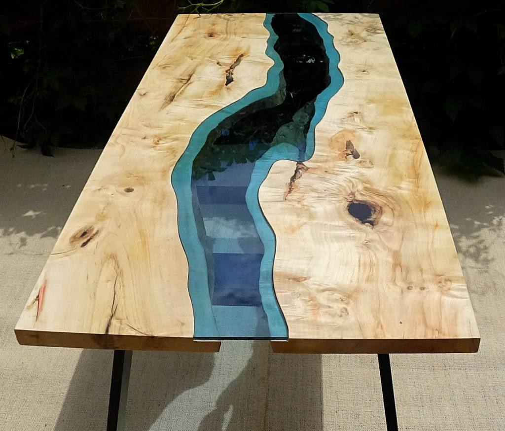river table ou table epoxy