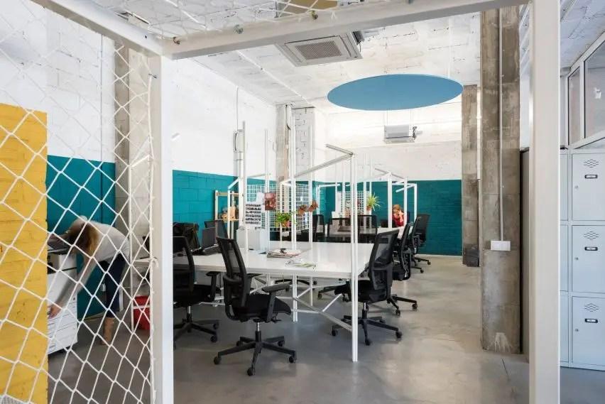 Aménagement bureau sur-mesure style loft