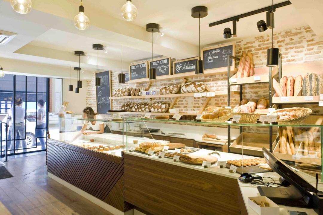 Une boulangerie moderne et esthétique