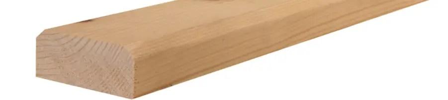 chanfrein de bois