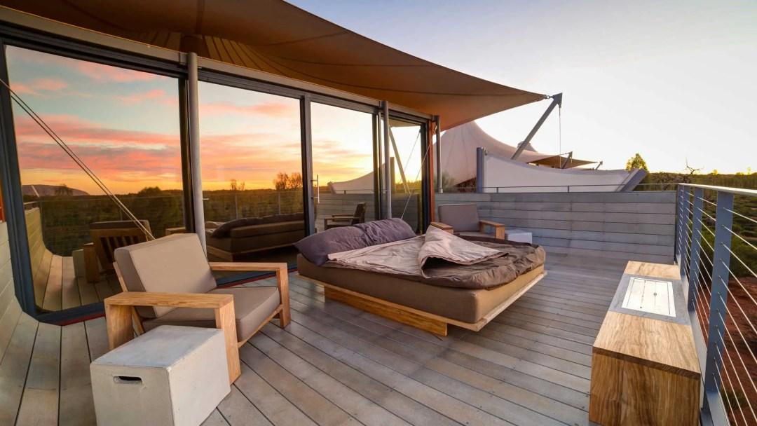 Chambre d'hôtel dans le bush australien