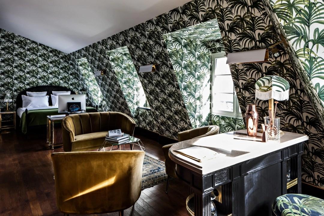 Une déco d'hôtel de charme vintage
