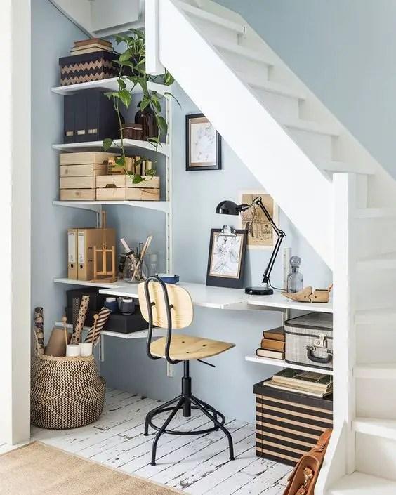 aménagement escalier bureau