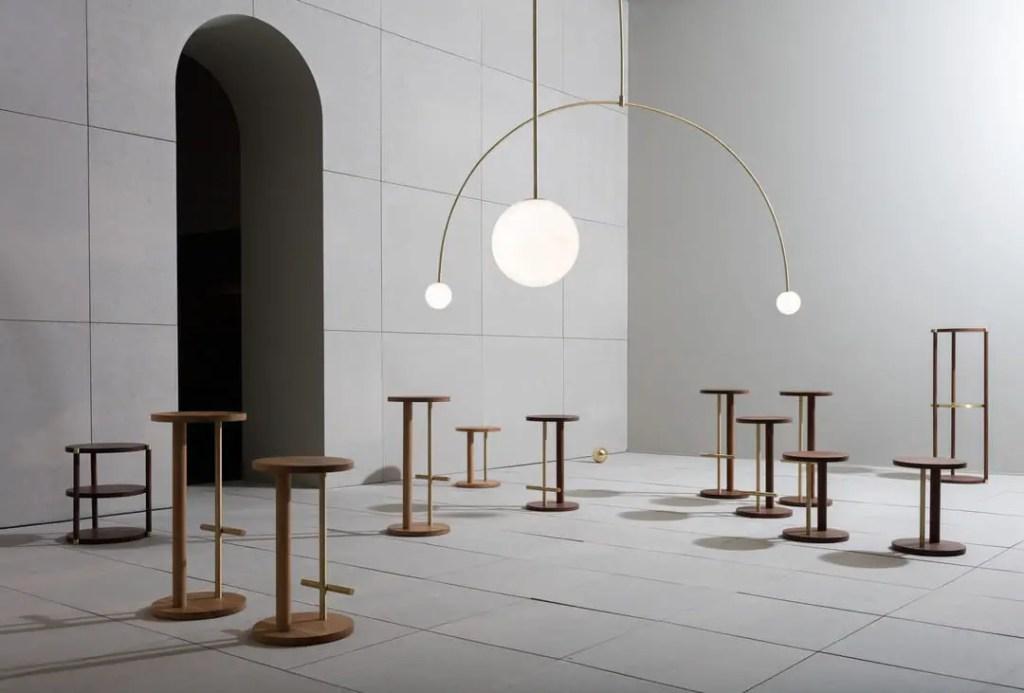 Éclairages luminaires bijoux Michael Anastassiade