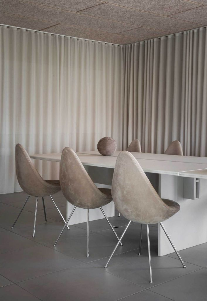 salle beige