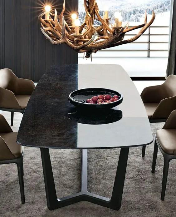 Tables à manger en pierre granit