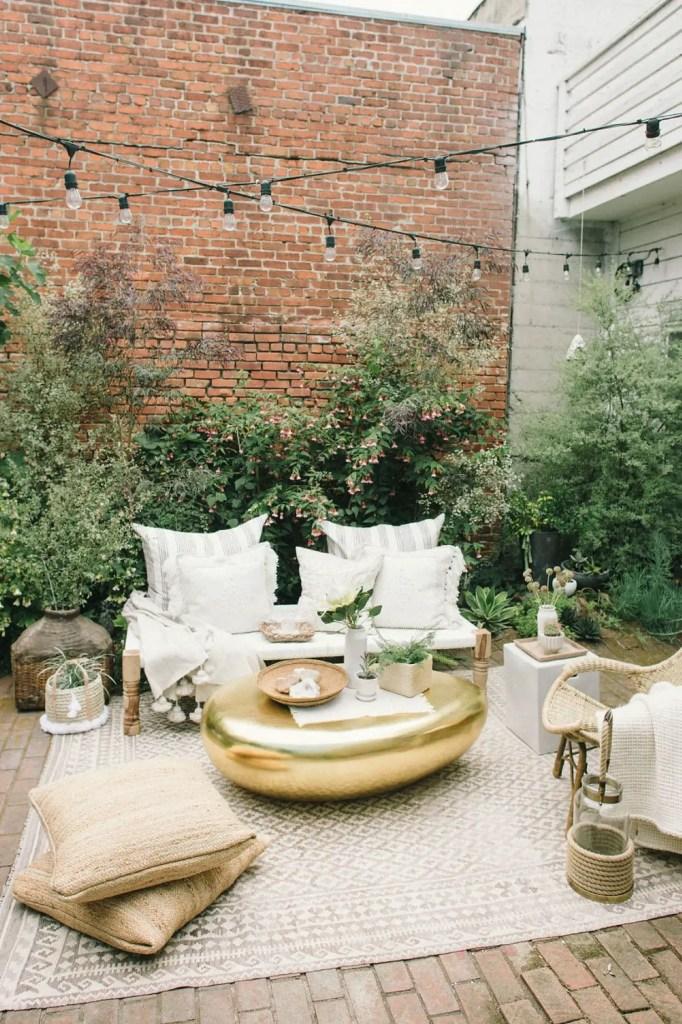 aménagement terrasse salon de jardin