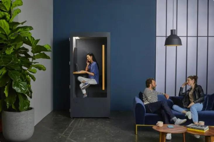 Phone Box : le retour du calme en open space ?