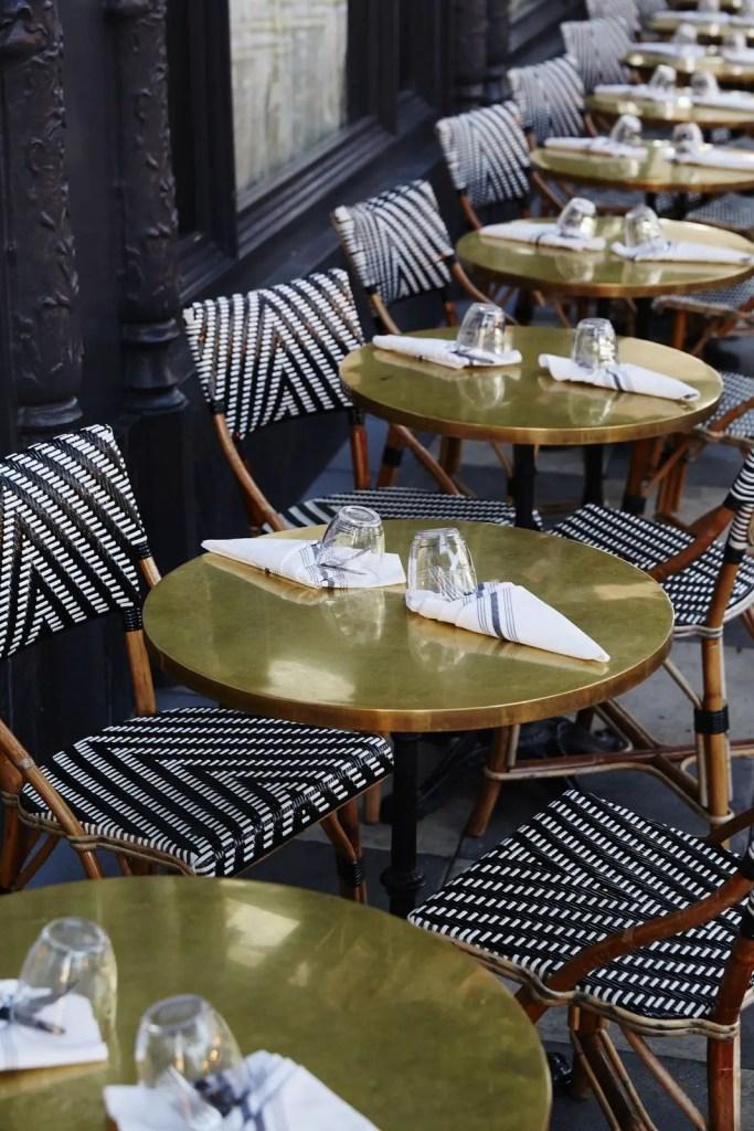 aménagement terrasse café restaurant