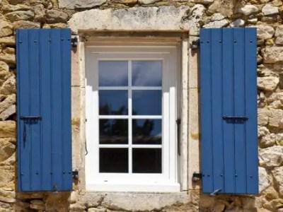 Petite fenêtre en pcv