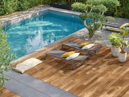 Terrasse en bois pin