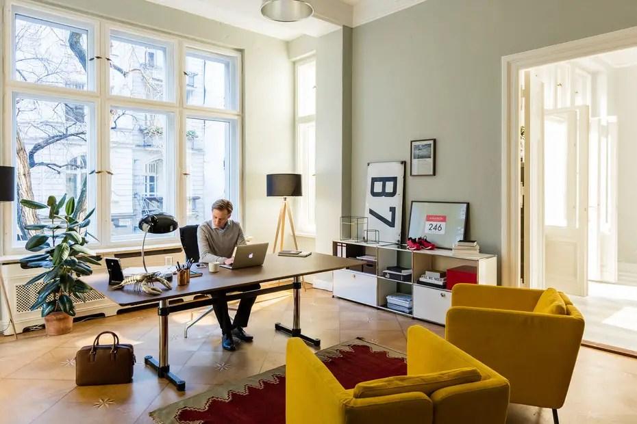 Aménagement d'un bureau maison productif