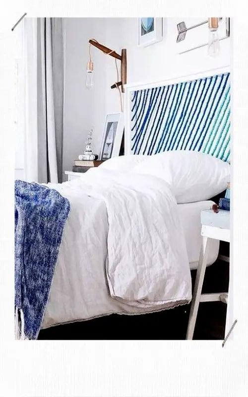 tête de lit en cordes